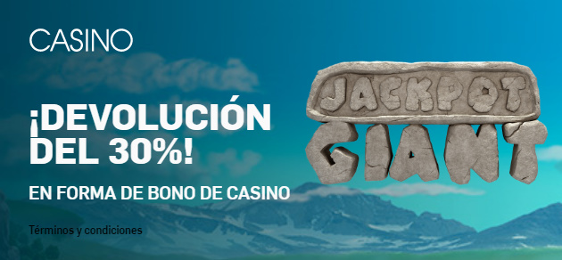 Betfair casino devolucion 30%